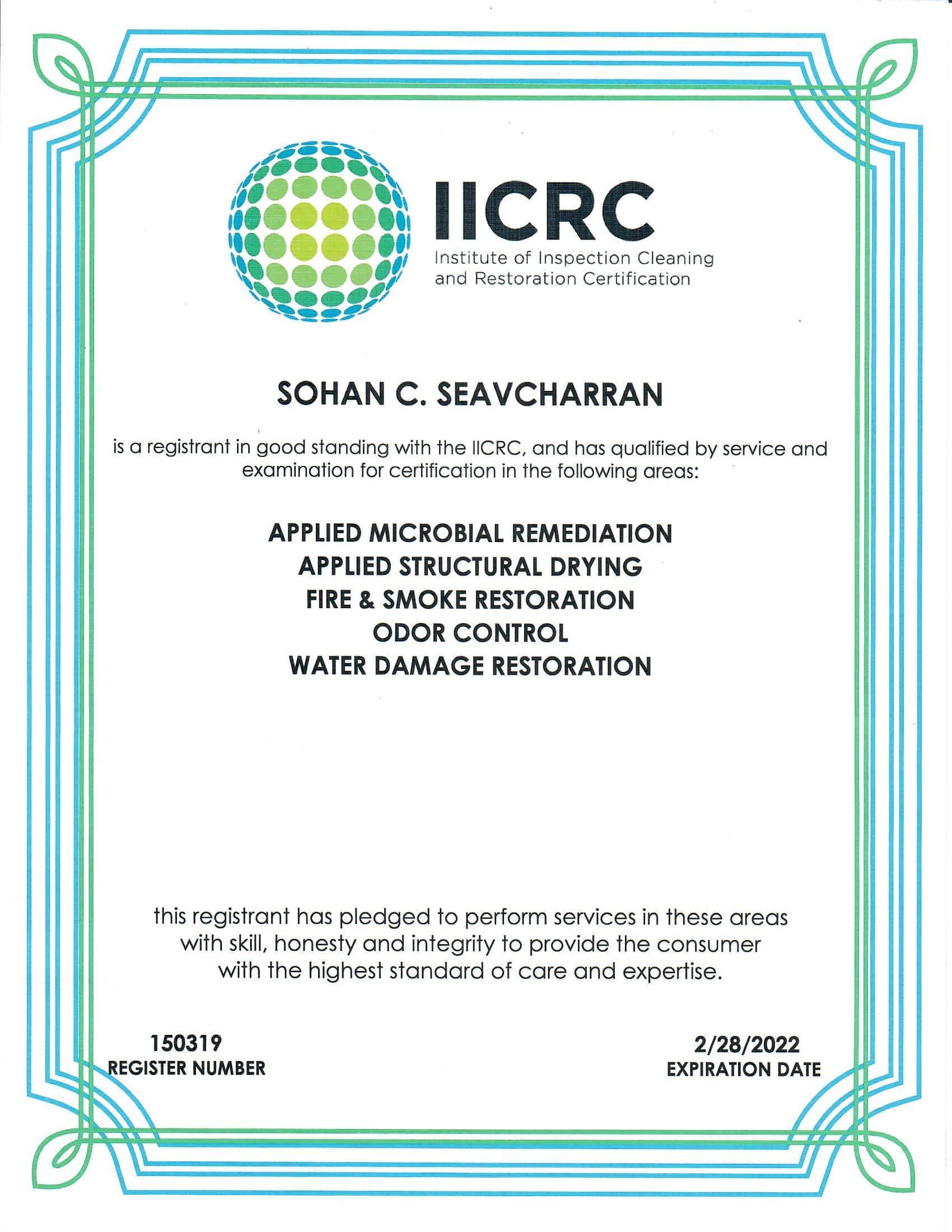 2022 IICRC Certificate-min