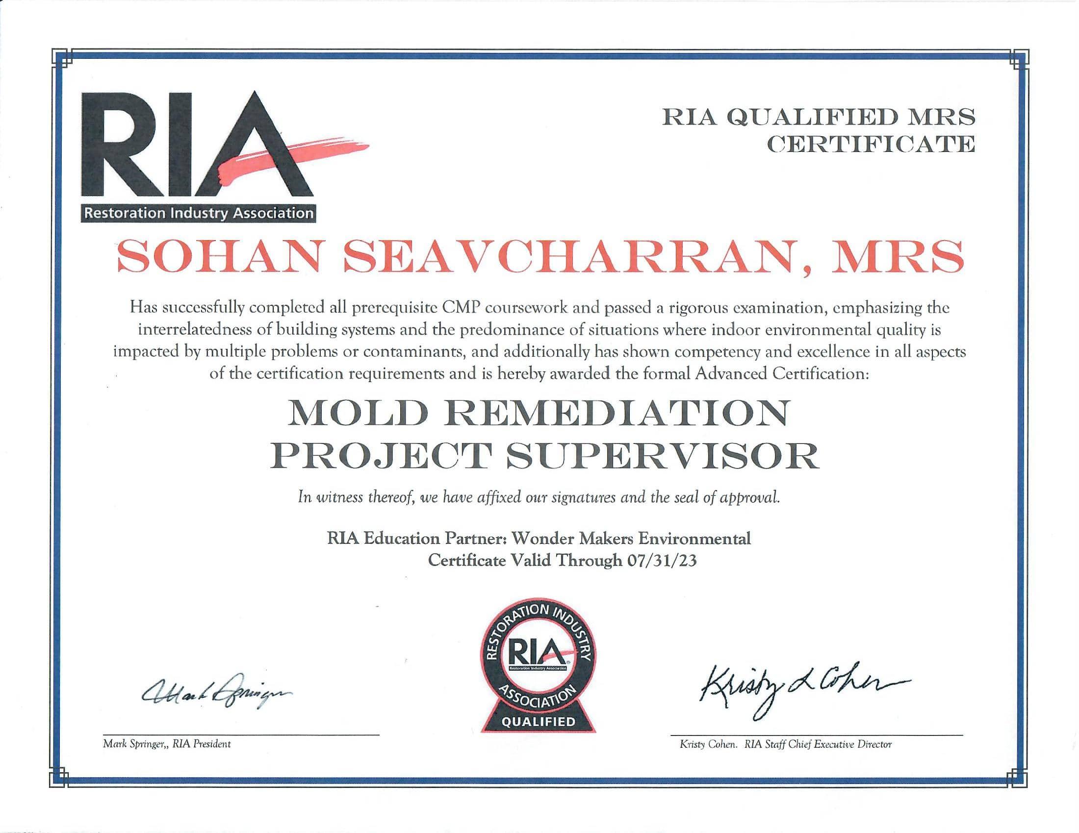 2023 RIA Certificate-min